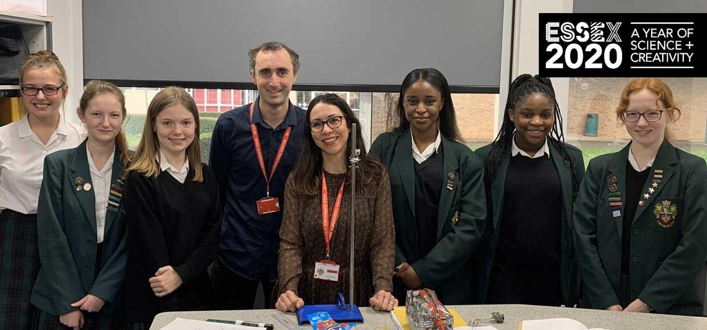 BBC Essex Launches BenSon's Science Club