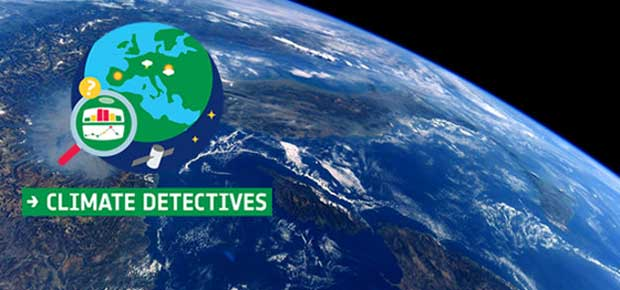 Climate Detective Opportunity for 8 to 15 year olds