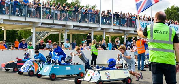 Opportunity to Support an Event at the Top Gear Test Track !