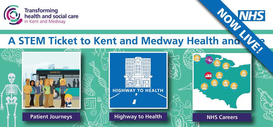 All Aboard the Kent & Medway NHS STEM Bus!