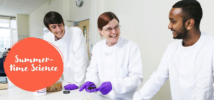 Canterbury Christ Church University launches Summer-Time Science home learning programme