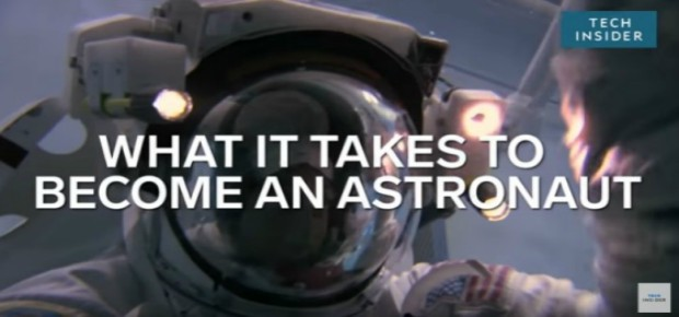 What does it take to become an astronaut?