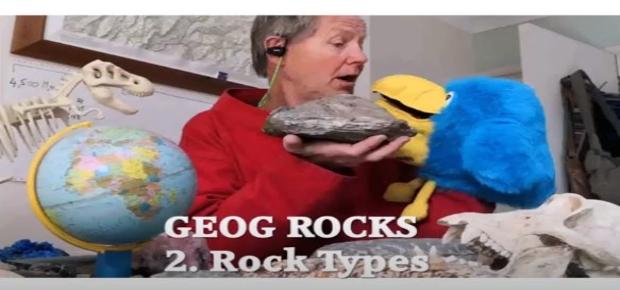 Mister Sandy And Mr Squawk, Geog. Rocks Episode 2