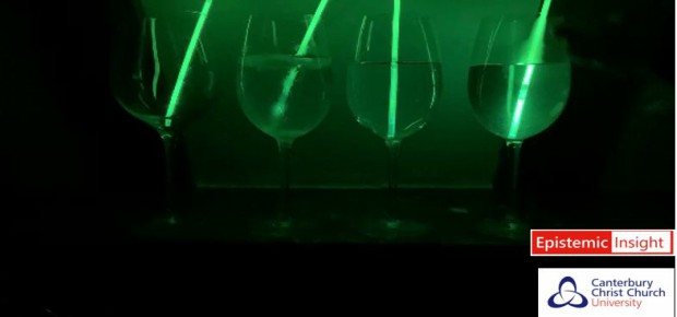 How can you affect the intensity of a glowstick?