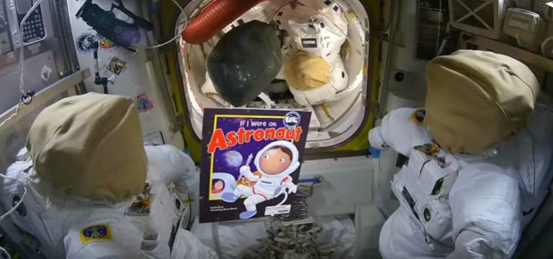 Story Time from Space: If I Were an Astronaut