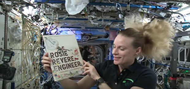 Story Time from Space – Rosie Revere, Engineer