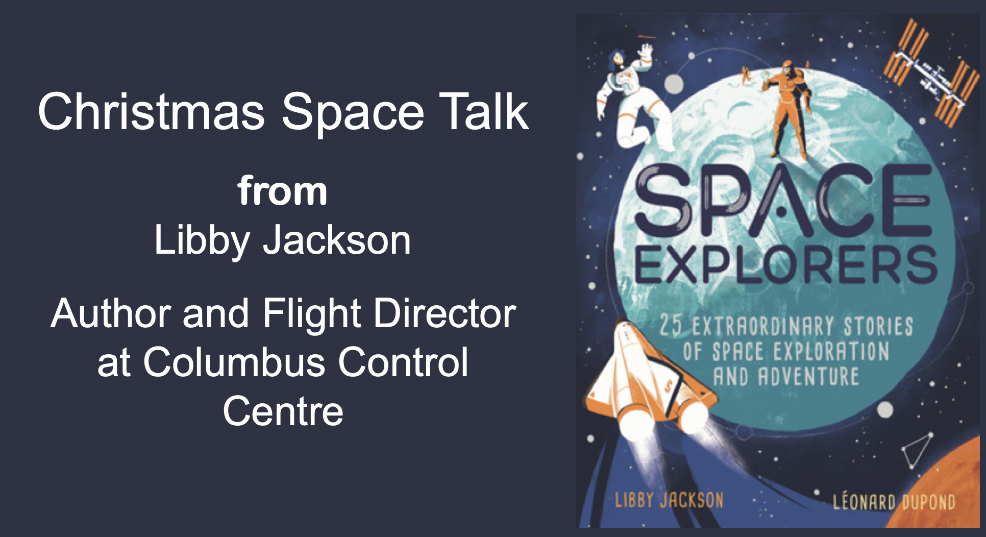 Primary Christmas Space Talk with Libby Jackson