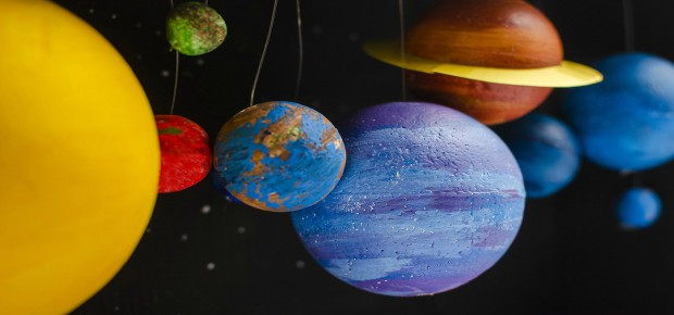 Make your own Solar System Hanging Model