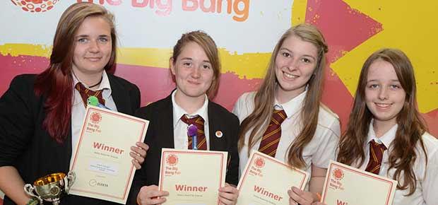 Kent and Medway students win prestigious awards at Big Bang Fair South East