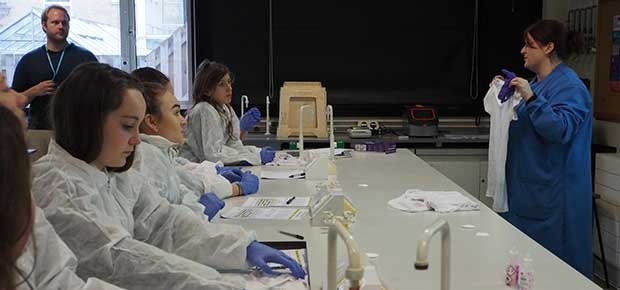 Forensic Science Day – Learning to Solve Crimes