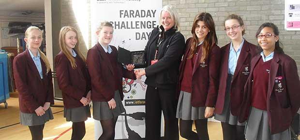 IET Faraday Challenge Day at Invicta Grammar School
