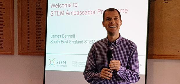 Lunch talk: James Bennett, STEM Ambassador Programme