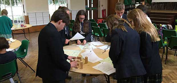 Mathematics Challenge at Ursuline College