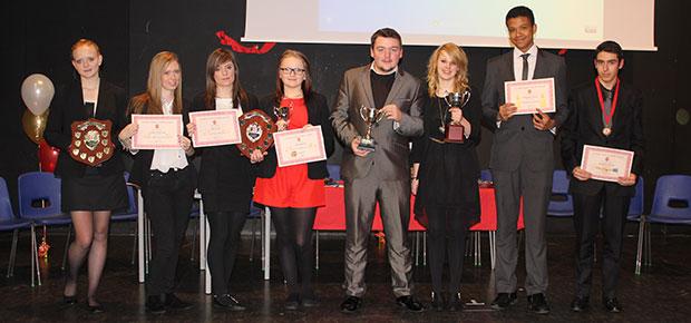 Kent & Medway STEM Present Best Scientist Award at St John Fisher Prize Giving