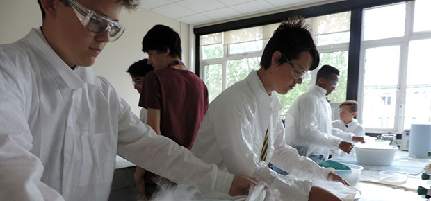 Chemistry at Work at Ursuline College, Westgate